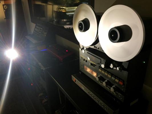 Magnetofón Teac 32-2 revisado, calibrado y con accesorios