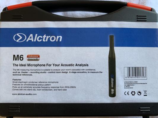 Micrófono de medición Alctron M6