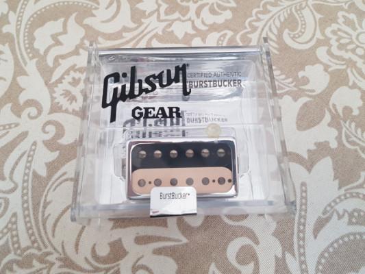 Pastilla Gibson Burstbucker #2 Zebra