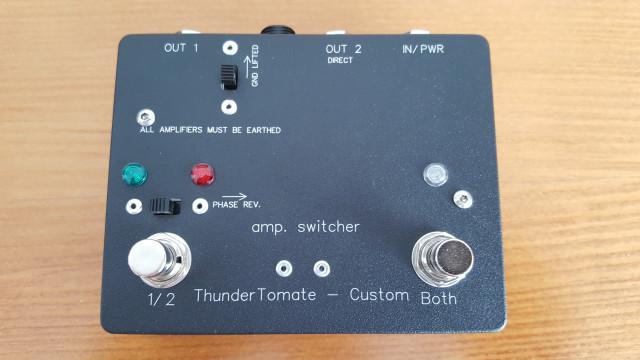 ThunderTomate Custom Amp Switcher ABY