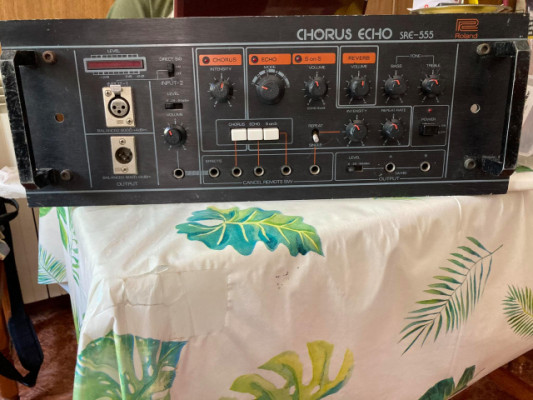 Eco de cinta Roland SRE-555 Chorus Echo