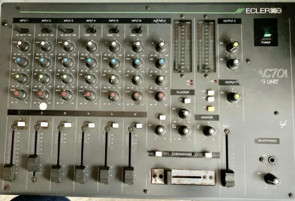 Mesa de Mezclas Mac 70i