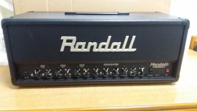 Randall RG1503 3 dias de uso