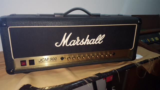 Marshall 4100 JCM 900  Cabezal de 100W