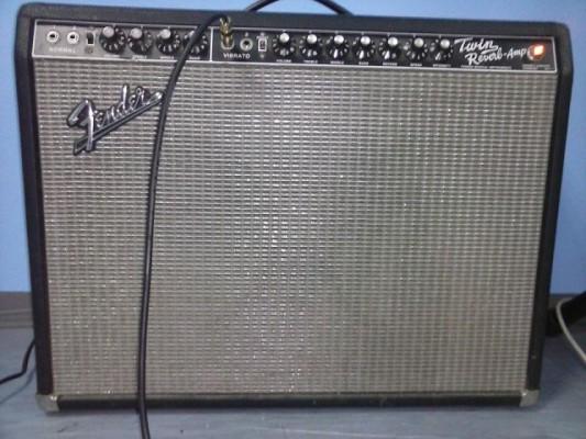 Vendo ampli Fender twin reverb
