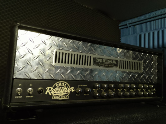 Mesa Dual Rectifier + Pantalla Mesa Boogie 4x12