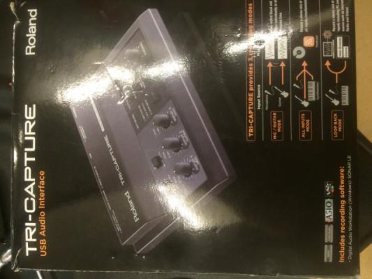 Interfaz audio Roland Tri-Capture- cambió por alguna humbucker