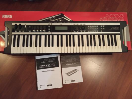 sintetizador KORG X-50