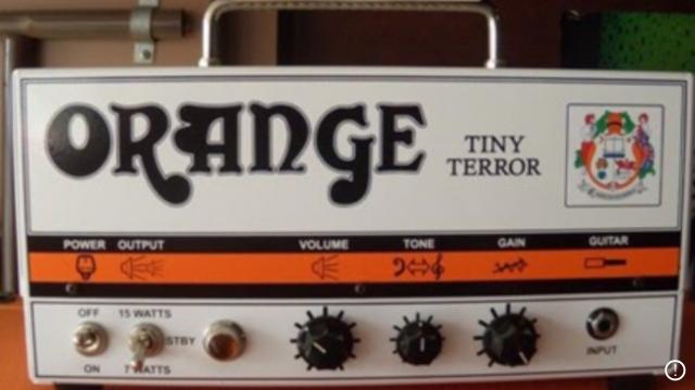 Orange Tiny Terror ¡Único dueño!