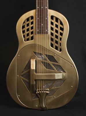 "Guitarra resonadora / resonator de tipo ""tricone"" o ""biscuit"""