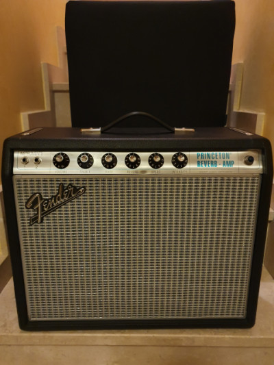 Fender 68 Custom Princeton Reverb Silverface