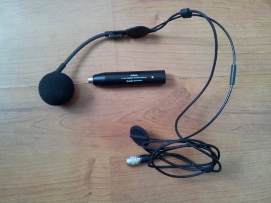 Micrófono diadema Audio Technica - ACEPTO CAMBIO