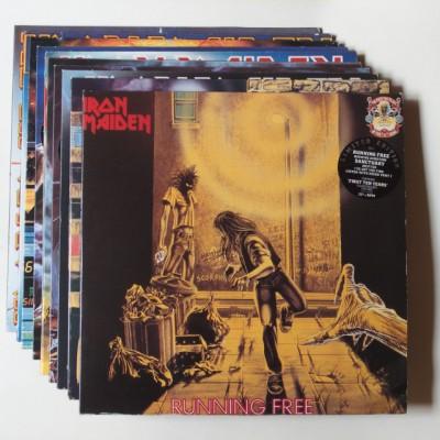 "Iron Maiden: ""First Ten Years"" en Vinilo (20 Lp's)"
