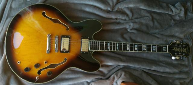 ***RESERVADA***Epiphone Sheraton Corea pastis Gibson 57