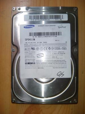 DISCO DURO SAMSUNG 40GB SP0411N IDE
