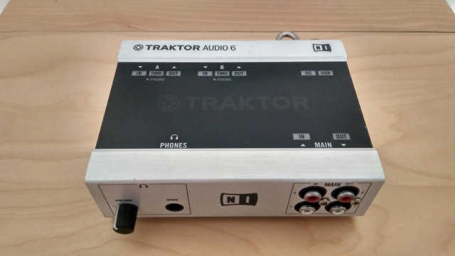 Traktor Scratch Audio 6 Native Instruments