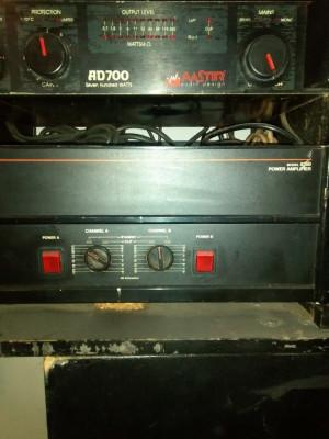 JBL 6290 ETAPA AMPLIFICADOR