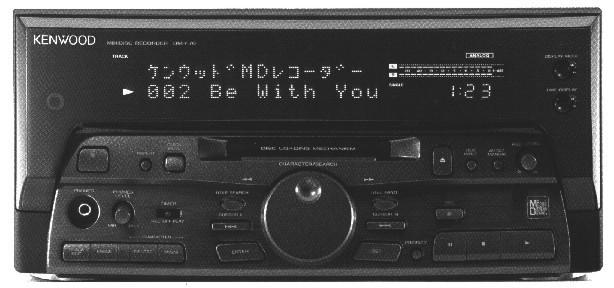 Minidisc Kenwood DMF70