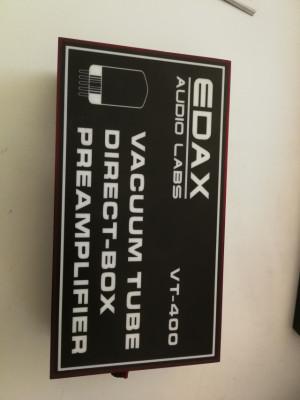DI a válvulas EDAX Audio VT-400