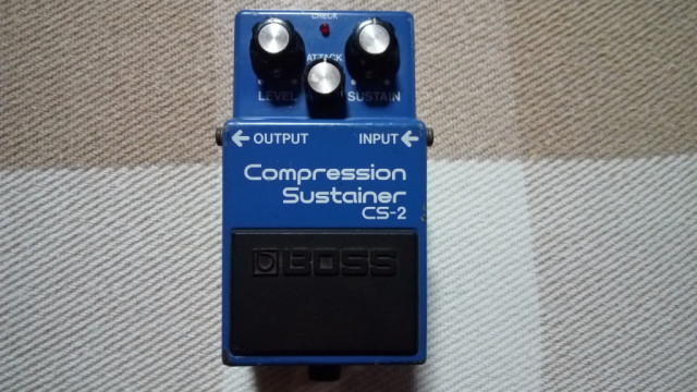 Pedal Boss CS-2 Compression Sustainer