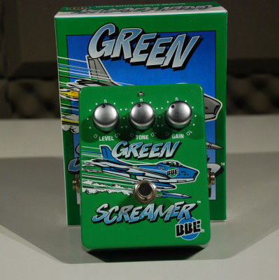 BBE GREEN SCREAMER (Tubescreamer)+chips adicionales
