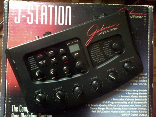 PREVIO MULTIEFECTOS JOHNNSON J-STATION