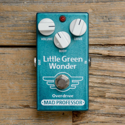 Pedal OD Mad Professor Little Green Wonder en estado 10/10