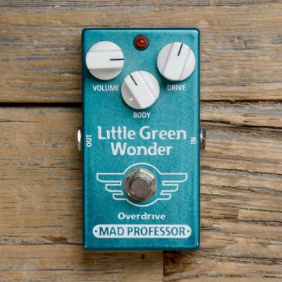 Pedal OD Mad Professor Little Green Wonder. Busco reverb/delay