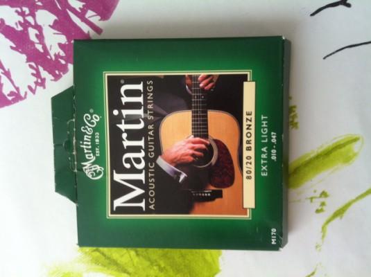 Cuerdas acustica Martin