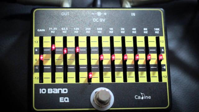 Caline 10 Band EQ Pedal CP-24 Ecualizador