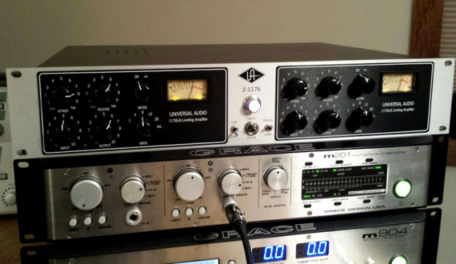 Compresor Universal Audio 2-1176