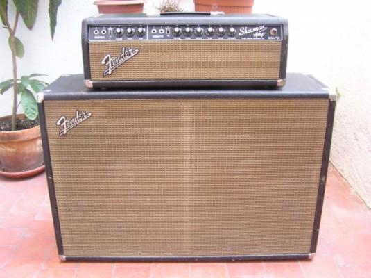 Cabezal Fender Showman 85 vatios ( 1964)blackface (solo cabezal )