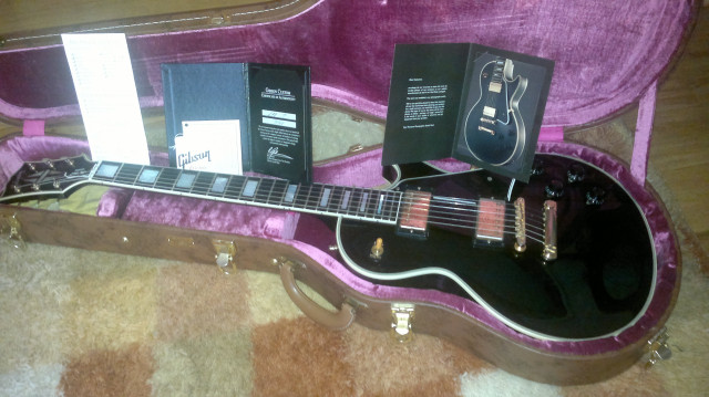 Gibson Lp custom BB R7 VOS