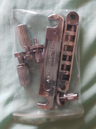 Puente + cordal Tune-O-Matic Cromado original,  Gibson Explorer