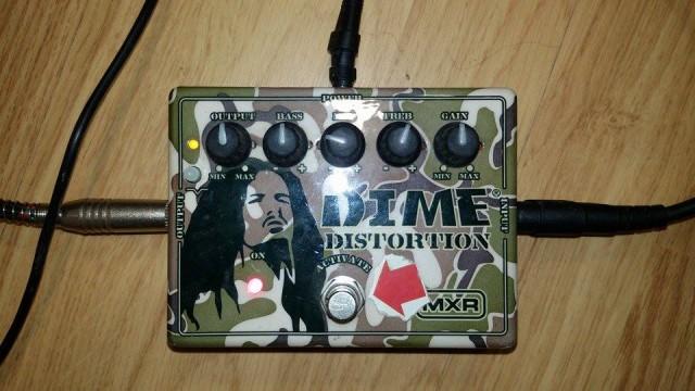 MXR DD-11 Dimebag Darrell Distortion