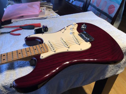 Fender Stratocaster Custom shop por Gibson Custom shop