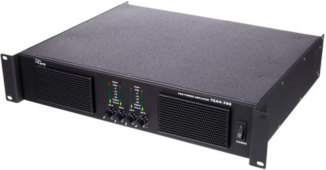 Etapa de potencia the t.amp TSA 4-700 4x930w 2 ohm