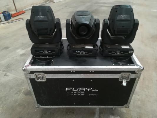 Cabezas móviles Prolights Fury 400S led 75w