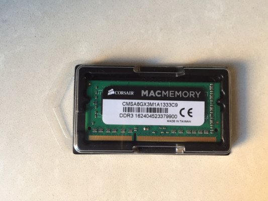 Ram ddr3 pc3 1333 para Mac