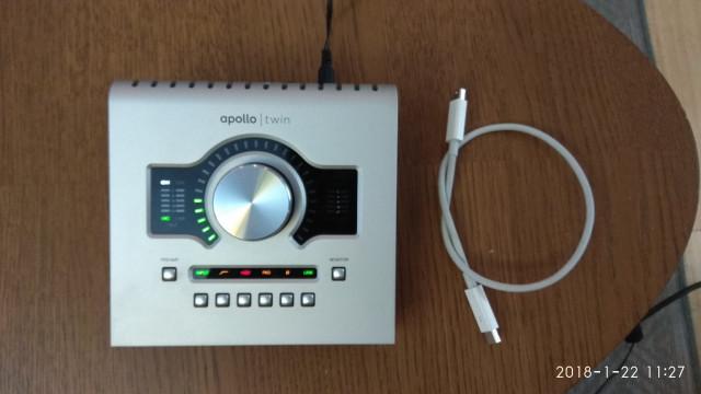 universal audio apollo twin duo thunderbolt