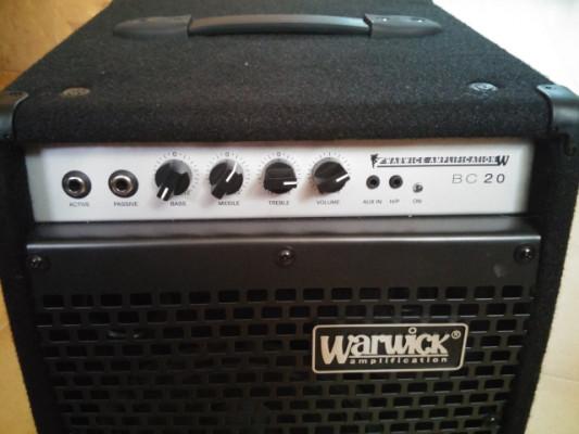 Amplificador Warwick BC20