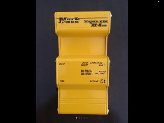 Caja de inyección Markbass