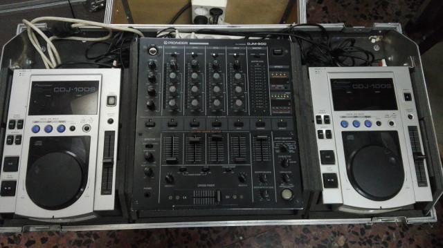Mesa Pioneer 500+ 2 Pioneer DJ100