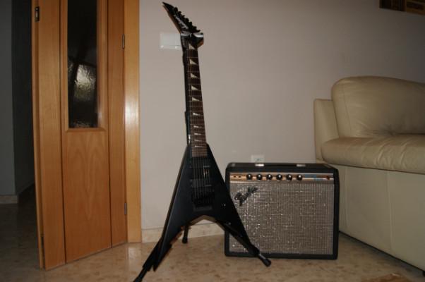 Guitarra 7 cuerdas - Jackson KV7 BKS Corey Beaulieu Signature