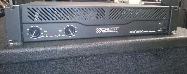 Etapa Crest Audio CPX-2600