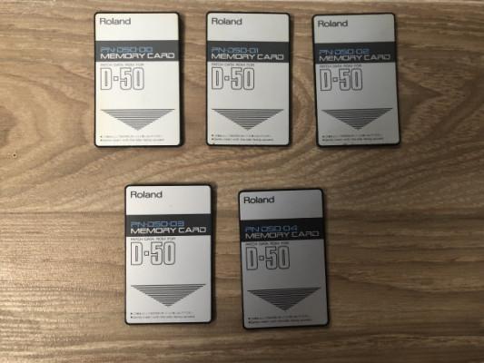 Tarjetas para Roland D-50