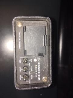 sennheiser mza 14 p48 bateria de micro portatil