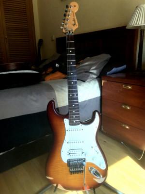 o Cambio: Fender Standard Strato Plus Top (Floyd Rose Tremolo)