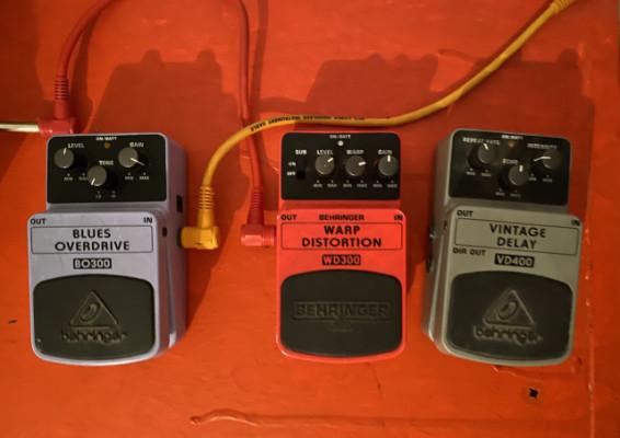 Efectos de guitarra y pedal