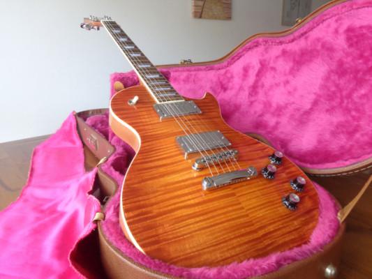 Les Paul imitación gibson standard, por luthier
